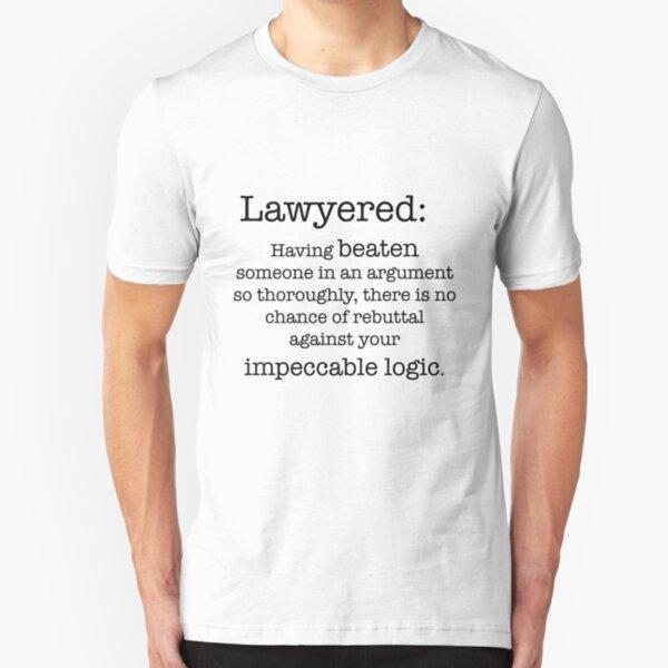 Lawyered definition Slim Fit T-Shirt