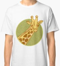 hand drawn giraffe Classic T-Shirt