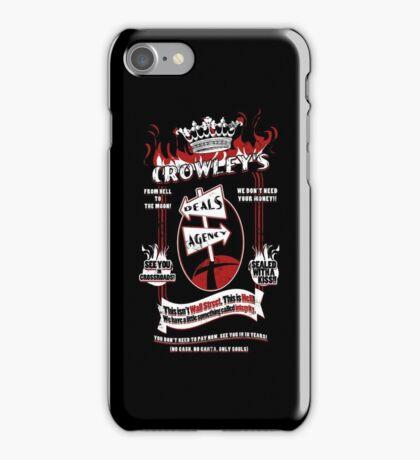 Crowley's Deals Agency iPhone Case/Skin