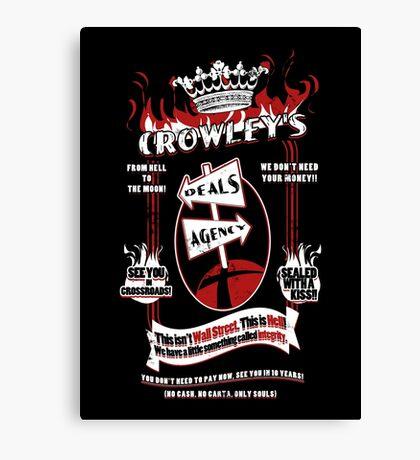 Crowley's Deals Agency Canvas Print