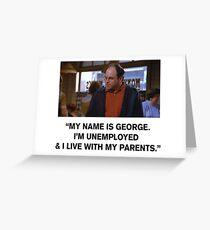 My name is George Greeting Card