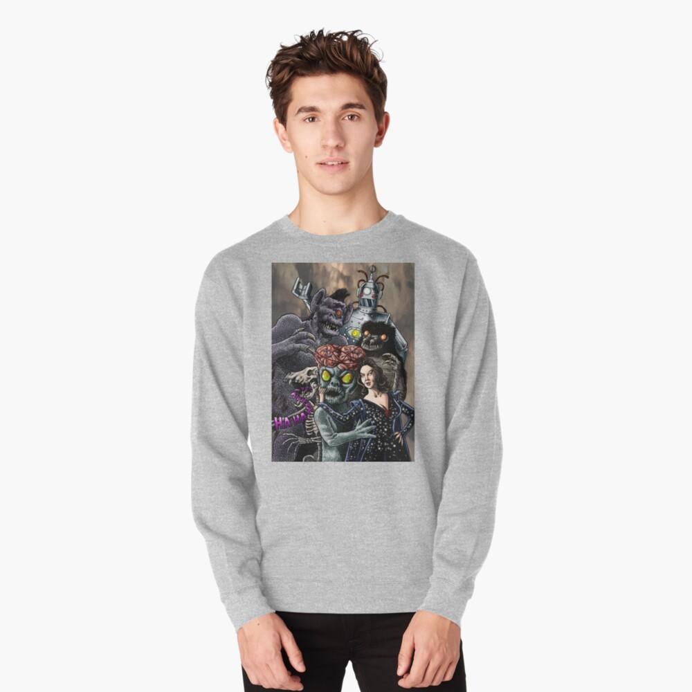 Ship of Monsters Pullover Sweatshirt