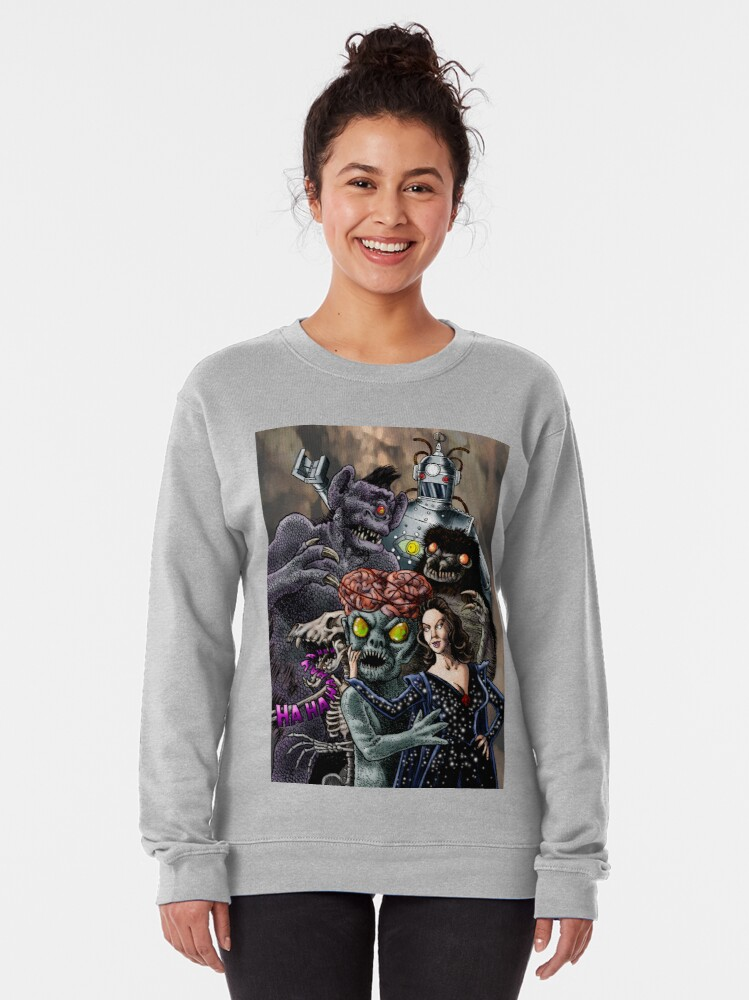 Alternate view of Ship of Monsters Pullover Sweatshirt