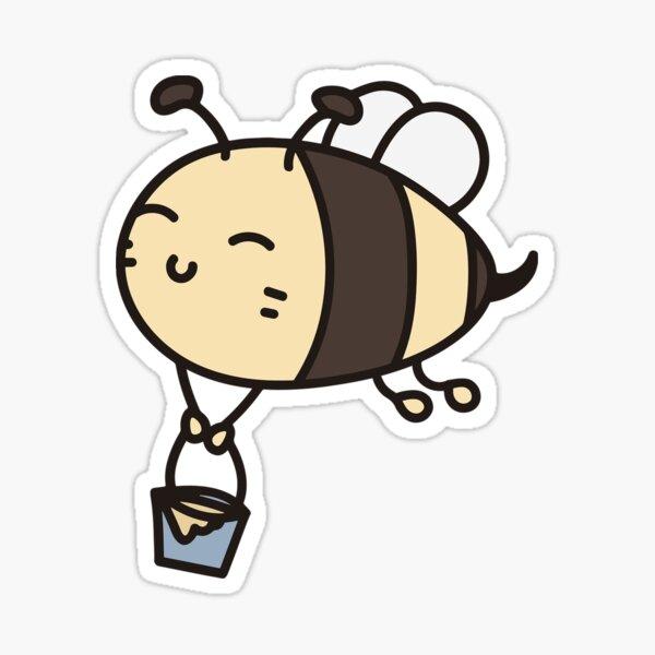 Bee Responsible Sticker