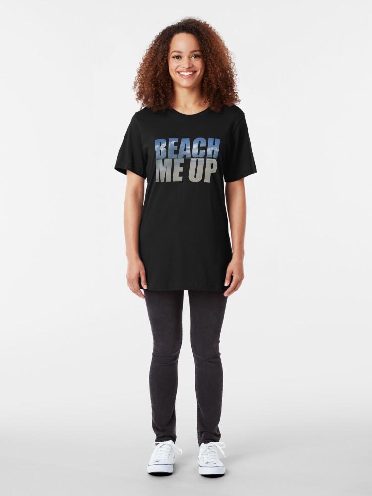 Alternative Ansicht von Mach mich auf Slim Fit T-Shirt