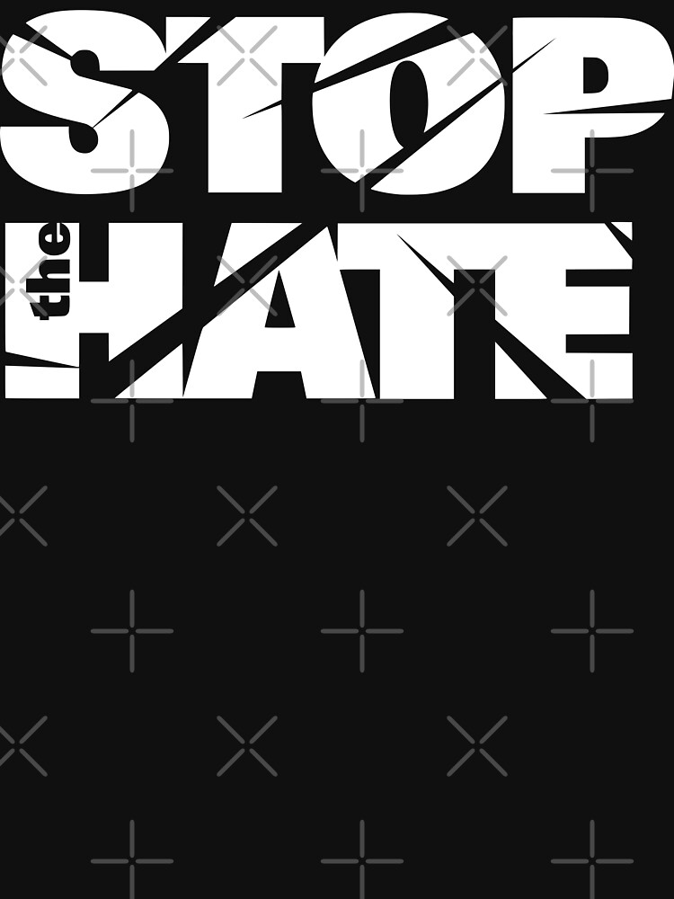 asian lives matter stop the hate hate crime by MickyDeeTees
