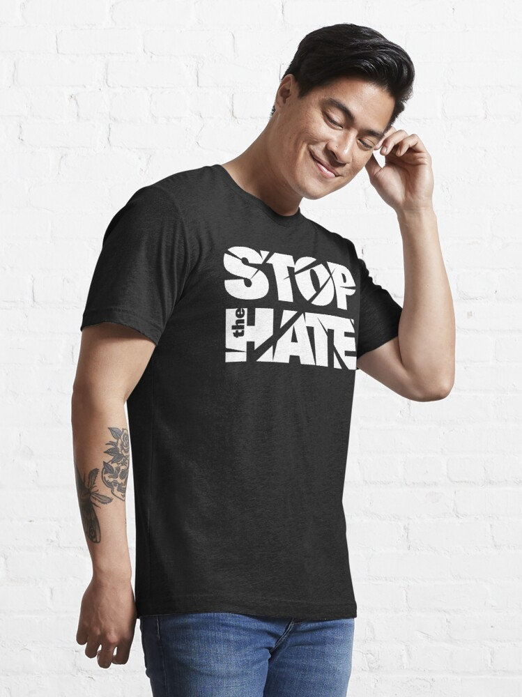 Alternate view of asian lives matter stop the hate hate crime Essential T-Shirt