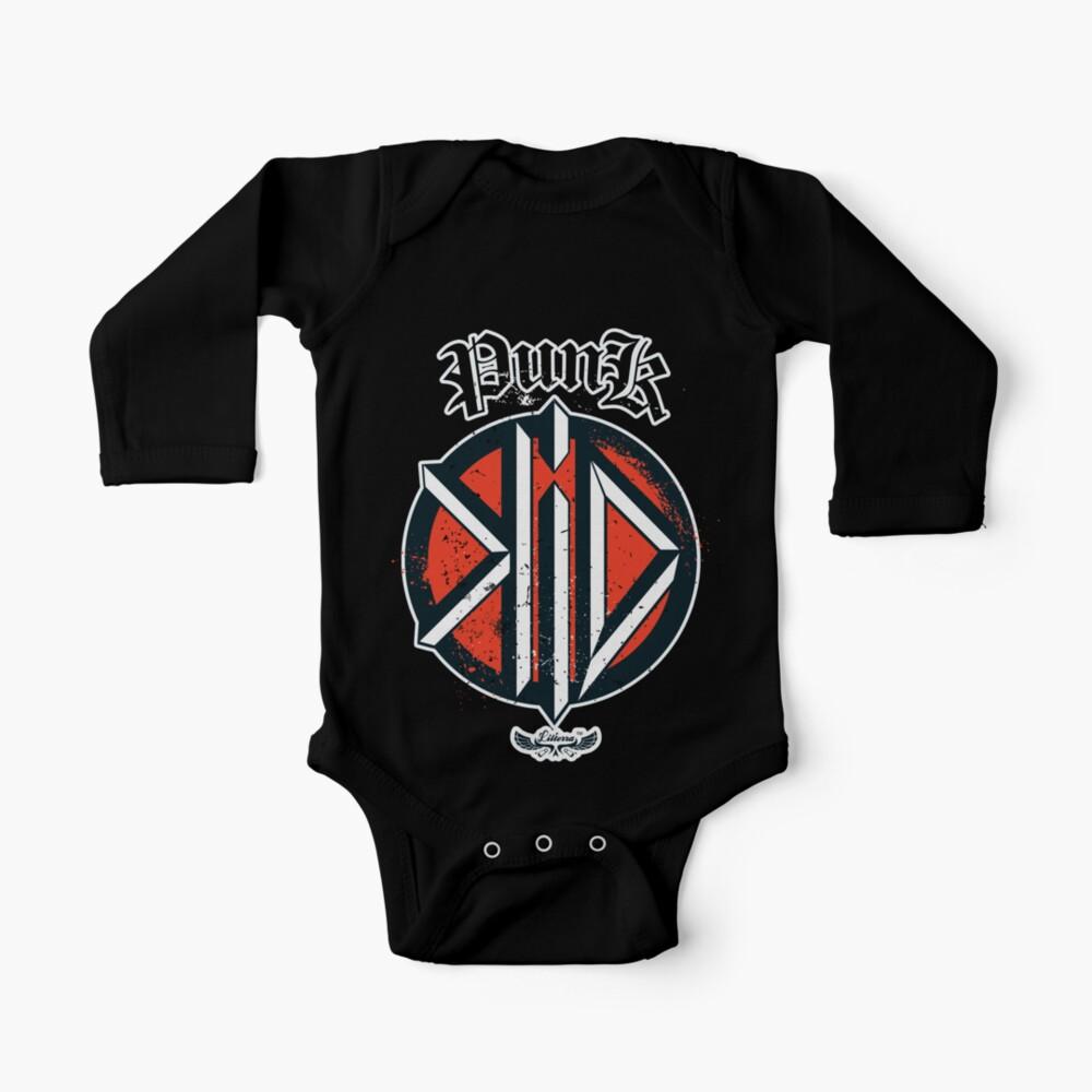 SDFE BODYSUITS Ramones Punk Rock Band Long Sleeve Newborn Onesies