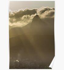 Redeemer on High, Rio De Janeiro, Brazil Poster