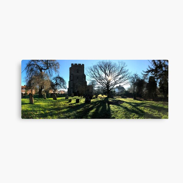 St Peter and St Paul Church from the North Canvas Print
