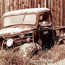 Ford T Model, Montana by Karin Funke