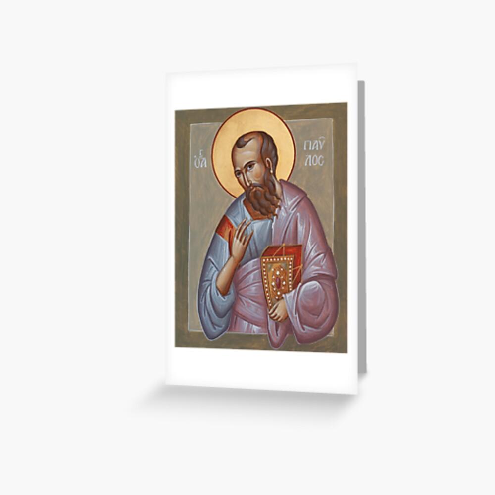 Apostle Paul Greeting Card