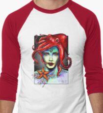 Sexy Mermaid Men's Baseball ¾ T-Shirt