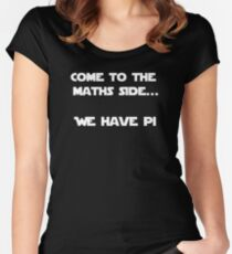 Come to the Maths side.. We have Pi Women's Fitted Scoop T-Shirt