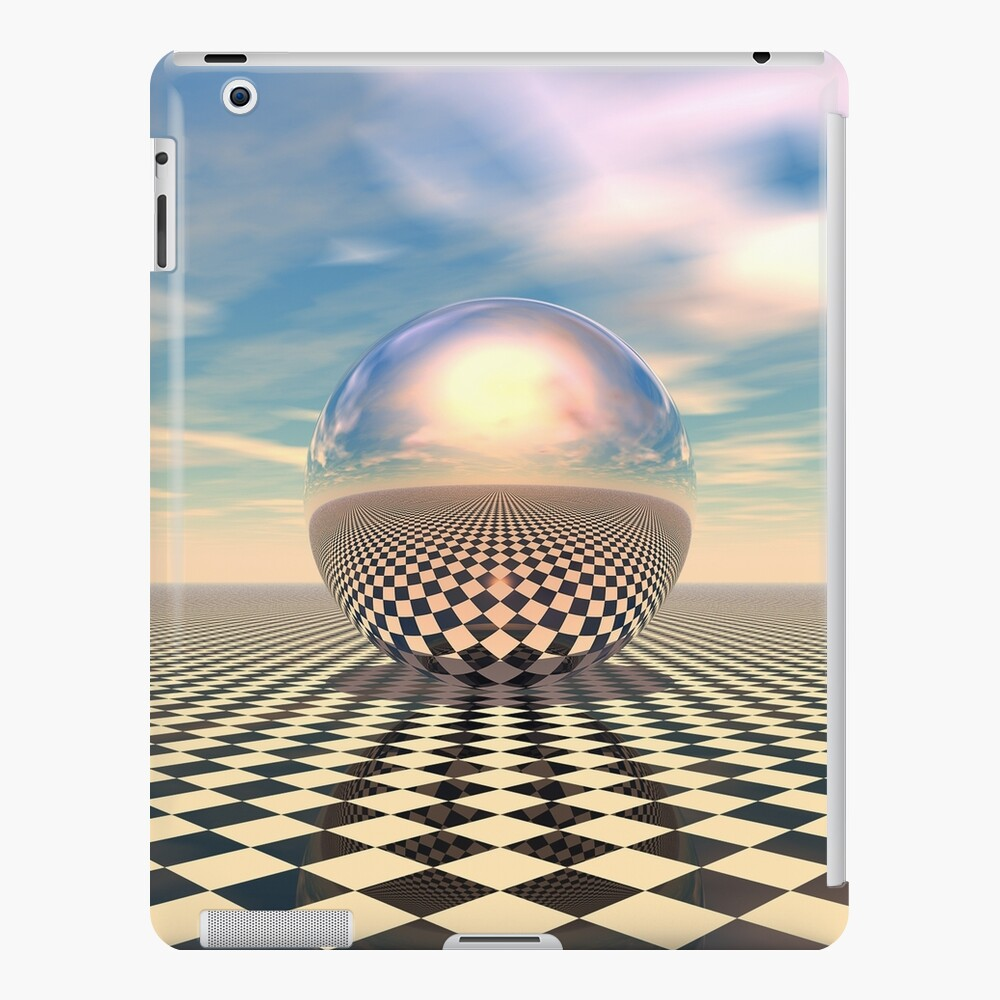 Checker Ball iPad Case & Skin