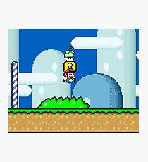 Mario Bros. 1Up Apple Photographic Print