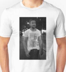 Ryan Gosling wearing a shirt of Macauley Culkin wearing a shirt of Ryan Gosling wearing a shirt of Macauley Culkin Unisex T-Shirt