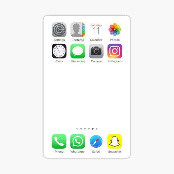 App icons Sticker