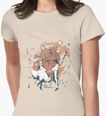 howl's moving castle Women's Fitted T-Shirt