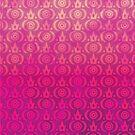 Cute Grunge Crown Pattern (B) by Nina Buie