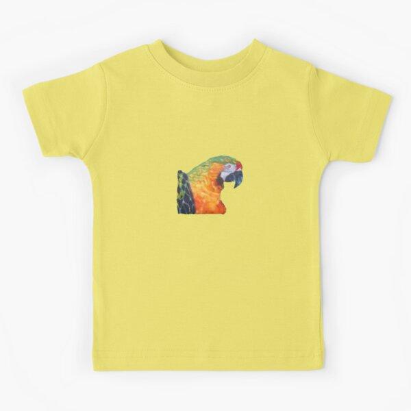 Macau parrot  Kids T-Shirt