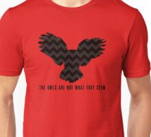 Twin Peaks - The Owls Are Not What They Seem Unisex T-Shirt