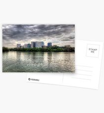 Rosslyn Metro Mall And Key Bridge Postcards