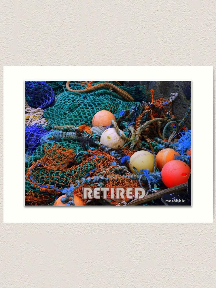 Alternate view of Coastal Retirement Art Print