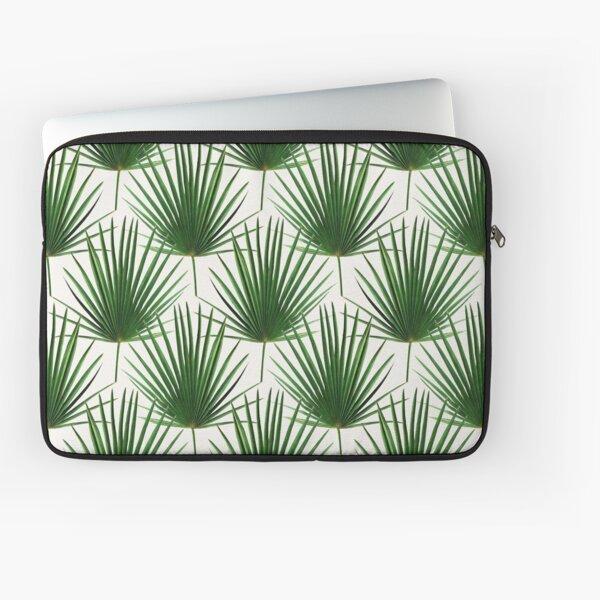 Simple Palm Leaf Geometry Laptop Sleeve