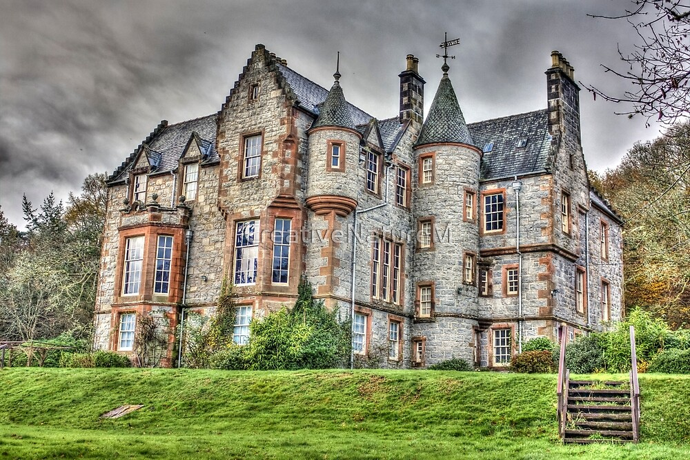 Shambellie House New Abbey Dumfries Galloway HDR Photo by CreativeNatureM
