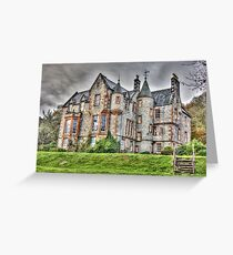 Shambellie House New Abbey Dumfries Galloway HDR Photo Greeting Card