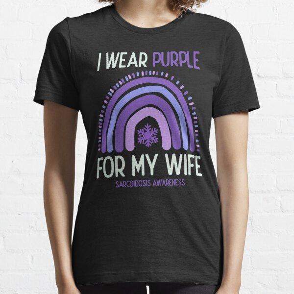 Latest Sarcoidosis Awareness I Wear Purple For Standard Unisex T-Shirt