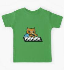 Piano Kitty Kids Tee