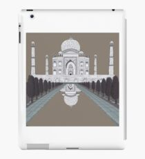 A still day in Agra (sepia) iPad Case/Skin