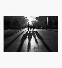 Shadows of the Beatles Photographic Print