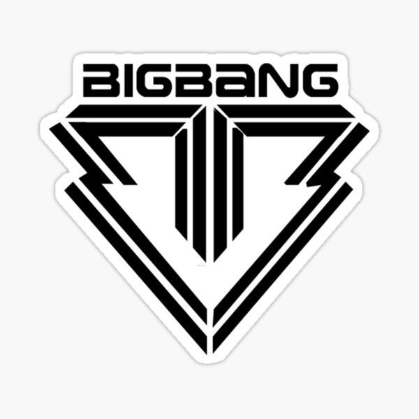 Big Bang Shirt Sticker