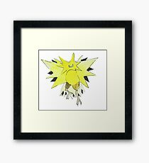 Ditto Zapdos Framed Print