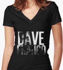 Dave Franco Women's Fitted V-Neck T-Shirt