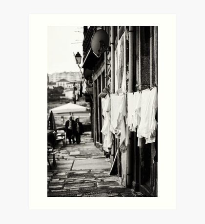 Another day in Porto Art Print