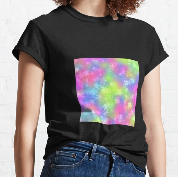 Rainbow stars Classic T-Shirt
