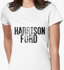 Harrison Ford Womens Fitted T-Shirt