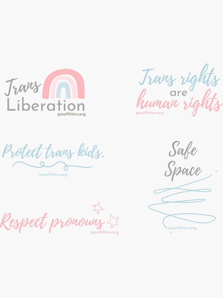 Trans Rights   LGBTQ Justice Pack by JPOutiffters