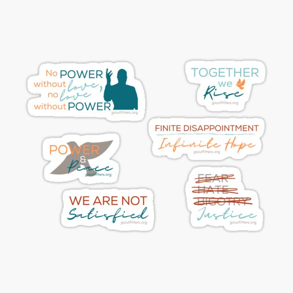 Power and Peace Pack Sticker