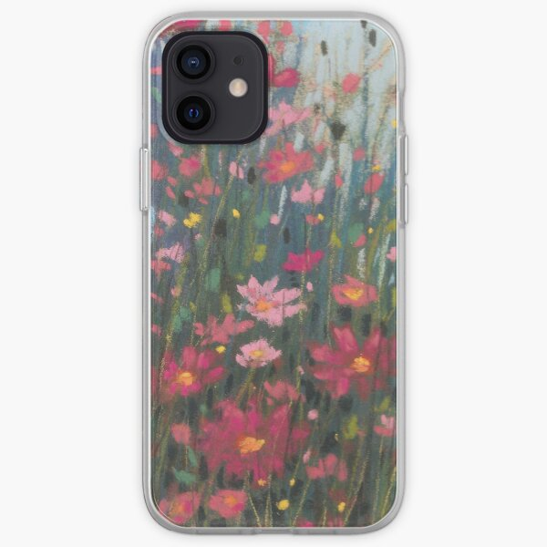 Pink Asters iPhone Soft Case