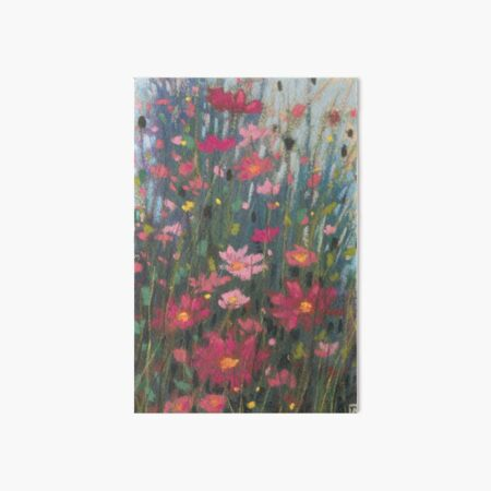 Pink Asters Art Board Print