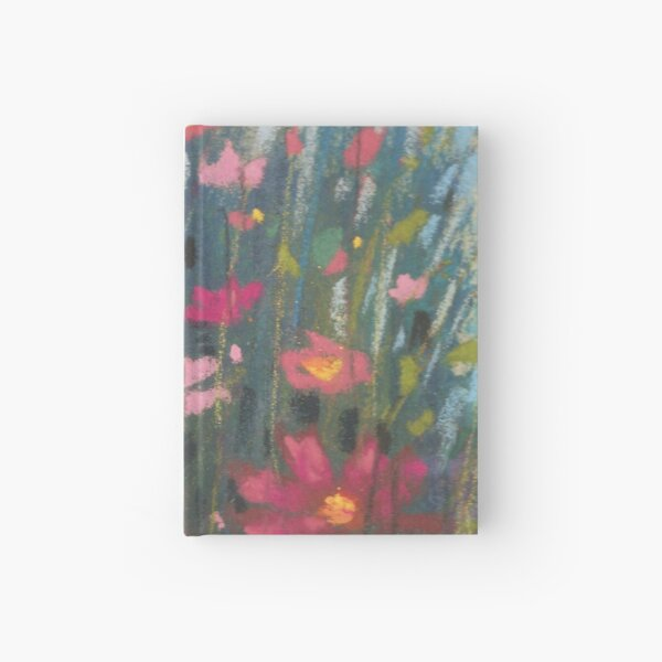 Pink Asters Hardcover Journal