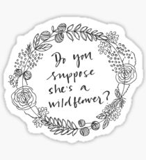 Wildflower Sticker Sticker