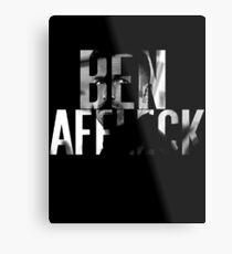 Ben Affleck Metal Print