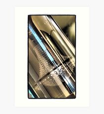 Chandelier in a Tube Art Print