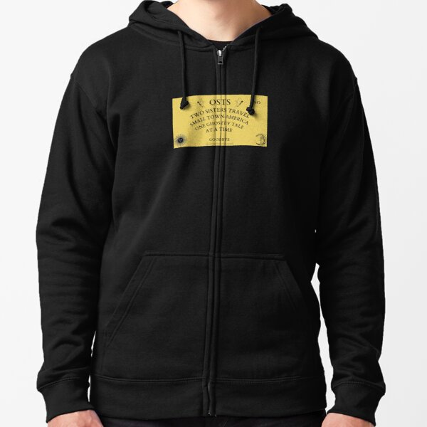 Or So They Say Ouija Zipped Hoodie